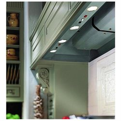 Vent-A-Hood Professional Series BH346PSLDSS Wall Hood Liner with 900 CFM Magic Lung Filterless Blower and Dual Level Halogen Lighting: 48 Inch Wide