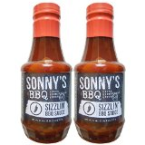 Sonny's Real Pit BAR-B-Q Authentic Sizzlin' BBQ Sauce 2 - 20 oz Bottles