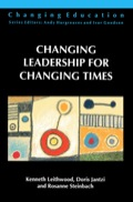 Changing Leadership for Changing Times examines the types of leadership that are likely to be productive in creating and sustaining schools of the future