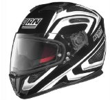 Nolan N-86 Overtaking Non N-Com Helmet , Distinct Name: Black/White, Gender: Mens/Unisex, Helmet Category: Street, Helmet Type: Full-face Helmets, Primary Color: Black, Size: Lg N8R5277930341