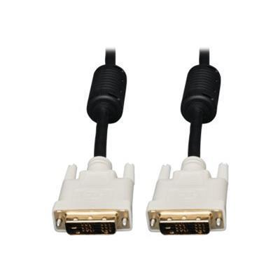 Tripplite P561-003 3ft Dvi Single Link Tmds Cable Molded Shielded Dvi-d M/m 3'