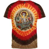 Grateful Dead - Bay Area Beloved Tie Dye T-Shirt - 2X-Large