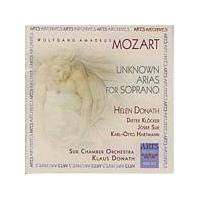 Wolfgang Amadeus Mozart - Unknown Arias For Soprano (Donath, Suk Chamber Orchestra) (Music CD)