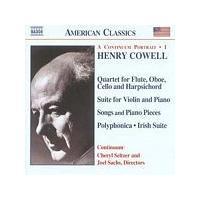 Henry Cowell - A Continuum Portrait 1 (Sachs, Seltzer, Continuum) (Music CD)