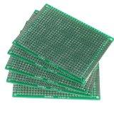 Vktech 5pcs 6x8cm Double-Side Prototype PCB Universal Printed Circuit Board
