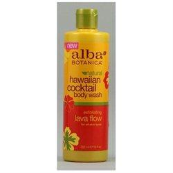 Alba Botanica Cocktail Body Wash Lava Flow
