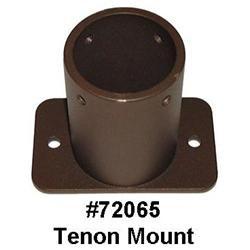 Pole Tenon Mount (2-3/8 Maximum Pole Diameter)
