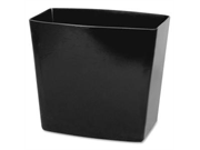 OIC 2200 Series Waste Container  - Black
