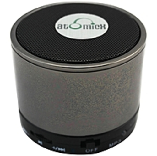 Atomicx  Sp-s10cm Speaker System - Wireless Speaker(s) - Chrome - 30 Ft - Bluetooth