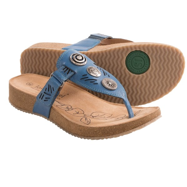 Josef Seibel Tonga 12 Sandals - Leather (For Women)