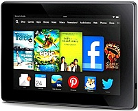 The Amazon Kindle Fire HD KNDFRHD8WIFI Tablet PC is an 7 inch screen tab with excellent high definition screen and reliable performance