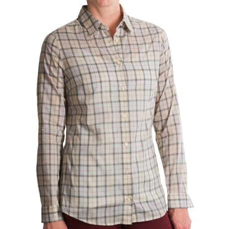 Barbour Lumley Tartan Plaid Shirt - Long Sleeve (for Women)