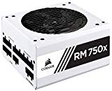 CORSAIR RMX White Series (2018), RM750x, 750 Watt, 80  Gold Certified, Fully Modular Power Supply - White