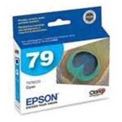Epson T079220 79 - High Capacity - Cyan - Original - Ink Cartridge - For Artisan 1430  Stylus Photo 1400  Px830fwd