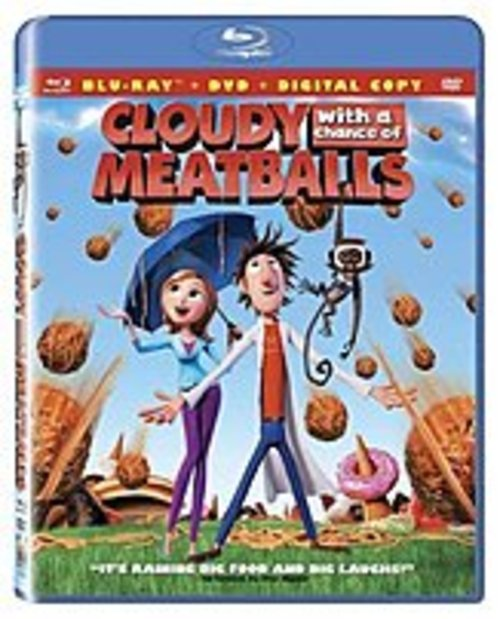 Sony Pictures Home Ent 043396215665 Cloudy With A Chance Of Meatballs - 2 Discs - Blu-ray - 90 Minutes