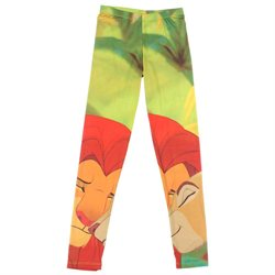 Disney The Lion King Juniors Simba And Nala Leggings