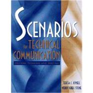 Scenarios For Technical Communication Critical Thinking And Writing