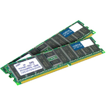 AddOn AM667D2DFB5/4G x2 JEDEC Standard Factory Original 8GB DDR2-667MHz Fully Buffered ECC Dual Rank 1.8V 240-pin CL5 FBDIMM - 100% compatible and guaranteed to work