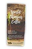 Three Avocados Uganda Bugisu Whole Bean Coffee - 12oz - 100% of Profits Provide Clean Water in Uganda
