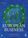 The third edition of European Business is published at a time of turbulence in Europe