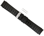 """Suunto Elementum Terra Rubber Watch Strap-Black Brand New Includes 1 Year Manufacturer Warranty, Product # SS018326000 (Black) Product # SS014827000 (Black / Silver) The Suunto Elementum Terra Rubber Strap is a light-weight, sleek, non-slip and durable band that fits all suunto elementum model watches and heart rate monitors"