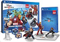 Disney Infinity 1205480000000 120548 Infinity 2.0 Marvel Super Heroes Video Game Starter Pack - Playstation 4