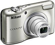 "Nikon Coolpix A10 16.1 Megapixel Compact Camera - Silver - 2.7"" Lcd - 16:9 - 5x Optical Zoom - 4x - Ttl - 4608 X 3456 Image - 1280 X 720 Video - Hd Movie Mode 26518"