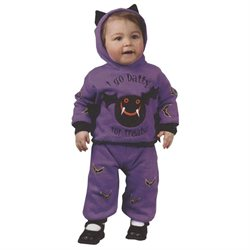 2Pc Hooded Bat (As Shown;6-12 Months)