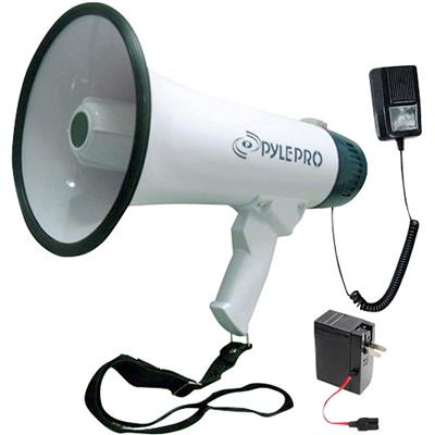 Pyle Pmp45r Pmp45r Professional Dynamic Megaphone With Recording Function/detachable Microphone & Rechargeable Batteries