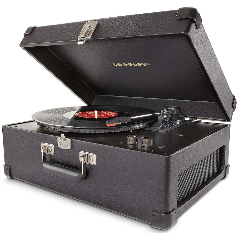 Keepsake Portable USB Turntable, BLACK