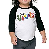 Child 3/4 Sleeve The Vandals Band Hitler Bad Raglan Shirts Printed Baseball Tees