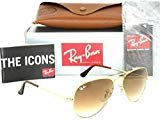 Ray-Ban 3025 Aviator RB 3025 001/51 58mm Gold Frame Brown Gradient 58mm Medium