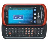 LG Xpression C395 Unlocked GSM Slider Cell Phone with Touchscreen   Full QWERTY Keyboard - Red