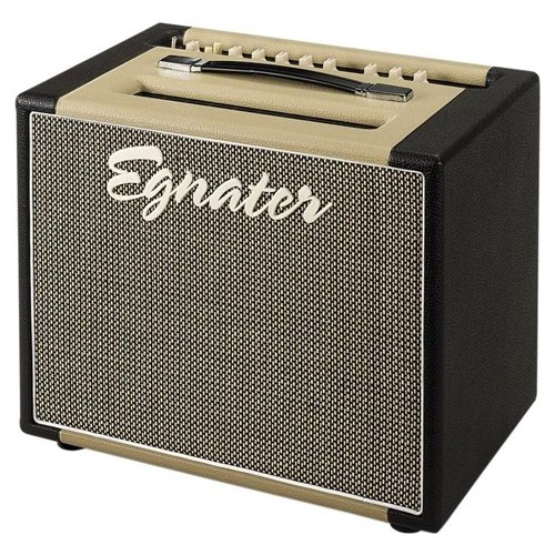 Egnater Rebel-30 112 1x12 30W Tube Combo Guitar Amp Black/Biege