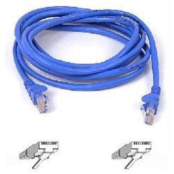 Belkin Cat5e Patch Cable - RJ-45 Male - RJ-45 Male - 10ft - Blue