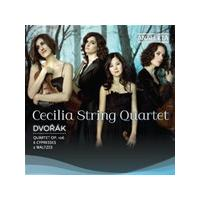 Dvorák: Quartet, Op. 106; 6 Cypresses; 2 Waltzes (Music CD)