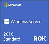 Hpe Windows Server 2016 Standard Rok - Base License And Media - 16 Core - Dvd-rom - Reseller Option Kit (rok) - English - Pc 871148-b21