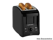 Hamilton Beach 22121 Black Smarttoast 2 Slice Toaster