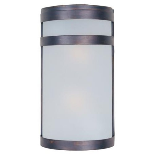 Arc Outdoor Wall Lantern in Oil Rubbed Bronze