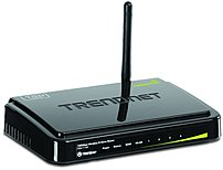 The TRENDnet TEW 711BR Wireless Router takes the work out of viewing video over the internet