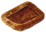 """Midwest QT40224 - Cinnamon Brand New Includes One Year Warranty, The MidWest QT40224 Quiet Time 24 x 18 inch pet bed is perfect for use in crates, carriers, doghouses and vehicles"