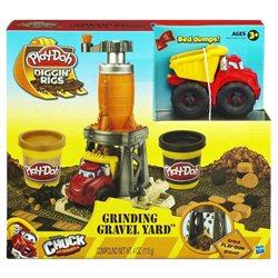 Grinding Gravel Yard Play-Doh Diggin' Rigs Set