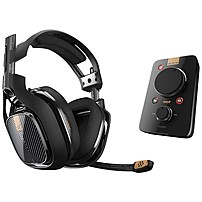 Astro A40 Tr Headset   Mixamp Pro Tr - Stereo - Black - Mini-phone - Wired - 48 Ohm - 20 Hz - 24 Khz - Over-the-head, Over-the-ear - Binaural - Circumaural 939-001511