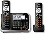 Panasonic KXTG6842B DECT 6.0 2-Handset High Quality Phone System with Answering Capability
