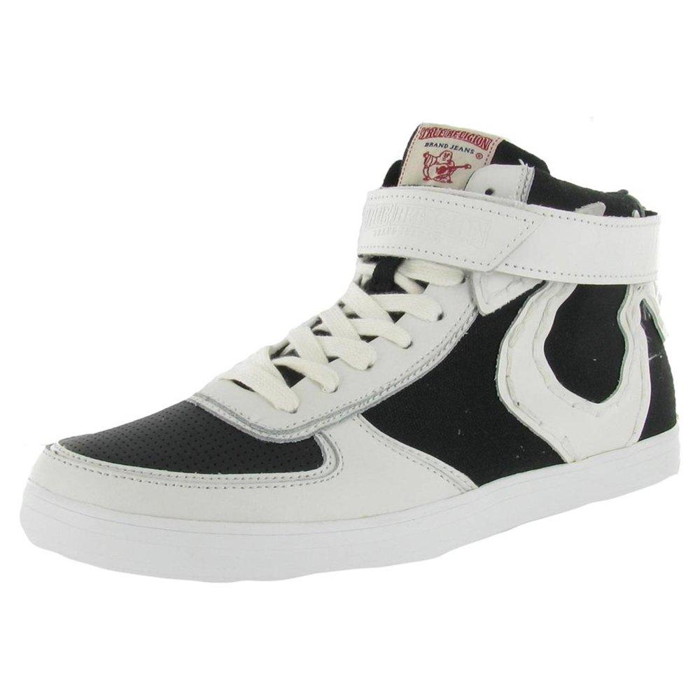 TRUE RELIGION Ace Hi Strap Leather Sneaker Mens Shoes