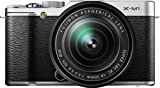 Fujifilm X-M1 Compact System 16MP Digital Camera Kit with 16-50mm Lens and 3-Inch LCD Screen (Silver)