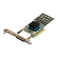 Atto Expresssas R680 8-port Sas Raid Controller - Serial Ata/600 - Pci Express 2.0 X8 - Plug-in Card - Raid Supported - 0, 1, 4, 5, 6, 10, 50, Jbod, 60, 40, Dvraid Raid Level - 2 Total Sas Port(s) - 2 Sas Port(s) Internal - 2 Sas Port(s) External Esas-r680-c00