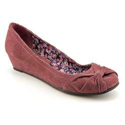 American Rag Sade Womens Purple Fabric Wedges Heels Shoes New/Display