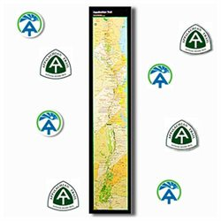 Ap Trail Conservancy 101884 Appalachian Trail Strip Map