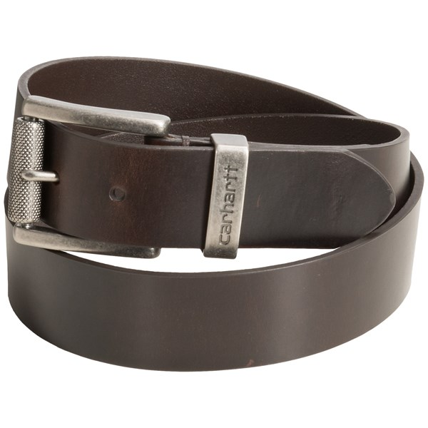 Carhartt Bar-tacked Leather Belt (for Men)